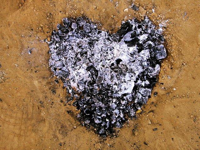 ashy heart